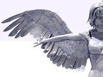 ängelprydnad Royaltyfri Bild