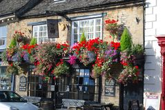 Ängelpuben, Witney, Oxfordshire, England, UK royaltyfria foton