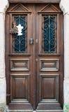 Ängels dörr Arkivbild
