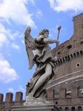 ängelskulptur Royaltyfri Foto