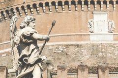 ängelslottitaly rome saint Arkivfoto