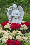 Ängelstaty Royaltyfri Bild