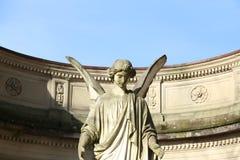 Ängelstaty i Baden-Baden Germany Royaltyfria Bilder
