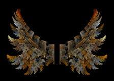 ängelvingar Royaltyfri Fotografi