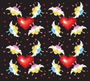 ängelwallpaperd Royaltyfria Foton