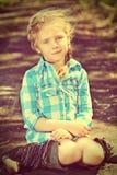 änglalik unge Royaltyfria Bilder