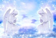 änglar royaltyfri illustrationer