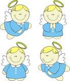 änglar behandla som ett barn gulligt Arkivbilder
