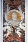 Änglar i Vatican Arkivbilder