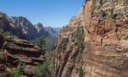 Änglar som landar Zion National Park 2 Fotografering för Bildbyråer
