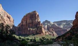 Änglar som landar Zion National Park 4 Royaltyfria Bilder