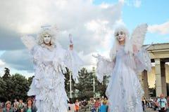 änglar två Royaltyfria Bilder