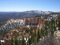 Ännu en härlig dag i Bryce Canyon Arkivbilder