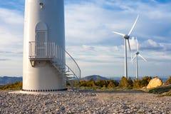 Äolische Energie Lizenzfreie Stockfotos