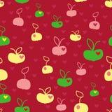Äpfel Stock Abbildung