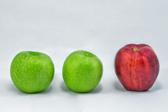 Äpfel Stockbild