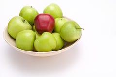 Äpfel in der Schüssel Stockfotografie