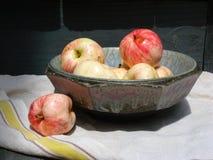 Äpfel in einer Aerni Schüssel Lizenzfreies Stockbild