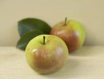 Äpfel einer neuen Ernte Lizenzfreie Stockfotos