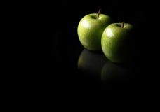 Äpfel ganz alleine Lizenzfreie Stockbilder