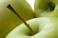 Äpfel golden delicious Lizenzfreies Stockfoto
