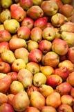 Äpfel und Birnen Lizenzfreies Stockbild