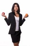 Äpfel und Orangen Lizenzfreies Stockbild