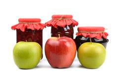 Äpfel und Störung Lizenzfreie Stockfotografie
