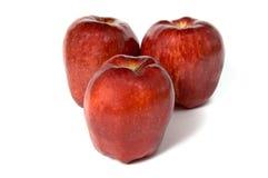 Äpfel zum Frühstück Stockbilder