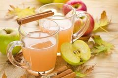 Äppelcider fotografering för bildbyråer