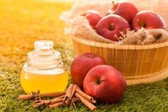 Äppelcidervinäger Royaltyfria Bilder