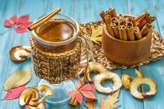 Äppeljuice royaltyfri bild