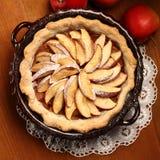 Äppelpaj Royaltyfria Bilder