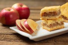Äppelpaj Fotografering för Bildbyråer