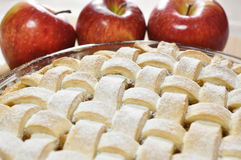 Äppelpaj Arkivbild