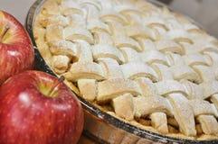 Äppelpaj arkivbilder