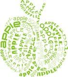 äppleäpplen Royaltyfri Illustrationer
