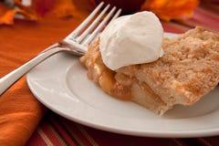 äpple bakad pie för holländare nytt Arkivfoto