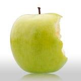 äpple biten green royaltyfri fotografi