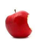 äpple biten red fotografering för bildbyråer