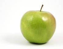 äpple - grön horisontalwhite fotografering för bildbyråer