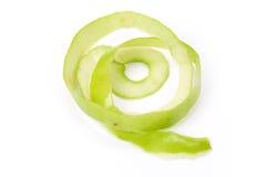 äpple - grön hud royaltyfria foton