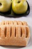 äpple - grön pie Royaltyfri Bild