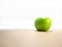 äpple - grön tabell Royaltyfri Fotografi
