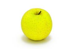 äpple - grönt gulaktigt royaltyfri fotografi