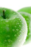 äpple - green royaltyfri bild