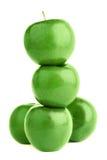 äpple - green arkivbilder