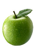 äpple - green arkivfoto