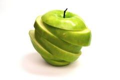 äpple - green Bakgrund för rengöringsdukdesign Fotografering för Bildbyråer