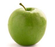 äpple - green isolerade Arkivbild